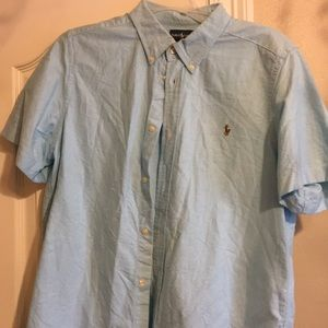 XL(18-20) button shirt Ralph Lauren